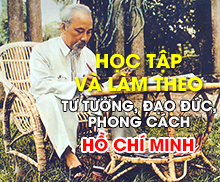 Học tập và làm theo tư tưởng, đạo đức, phong cách Hồ Chí Minh